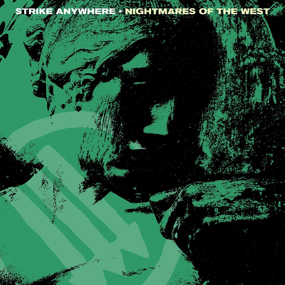 Strike Anywhere - Nightmares Of The West EP [Indie Exclusive Limited Edition Coke Bottle Clear w/ Heavy Neon Yellow & Black Splatter Vinyl]