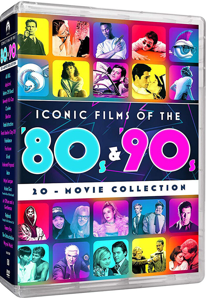 Iconic Movies of the 80s & 90s 20-Movie Collection - Iconic Movies Of The 80s & 90s 20-Movie Collection