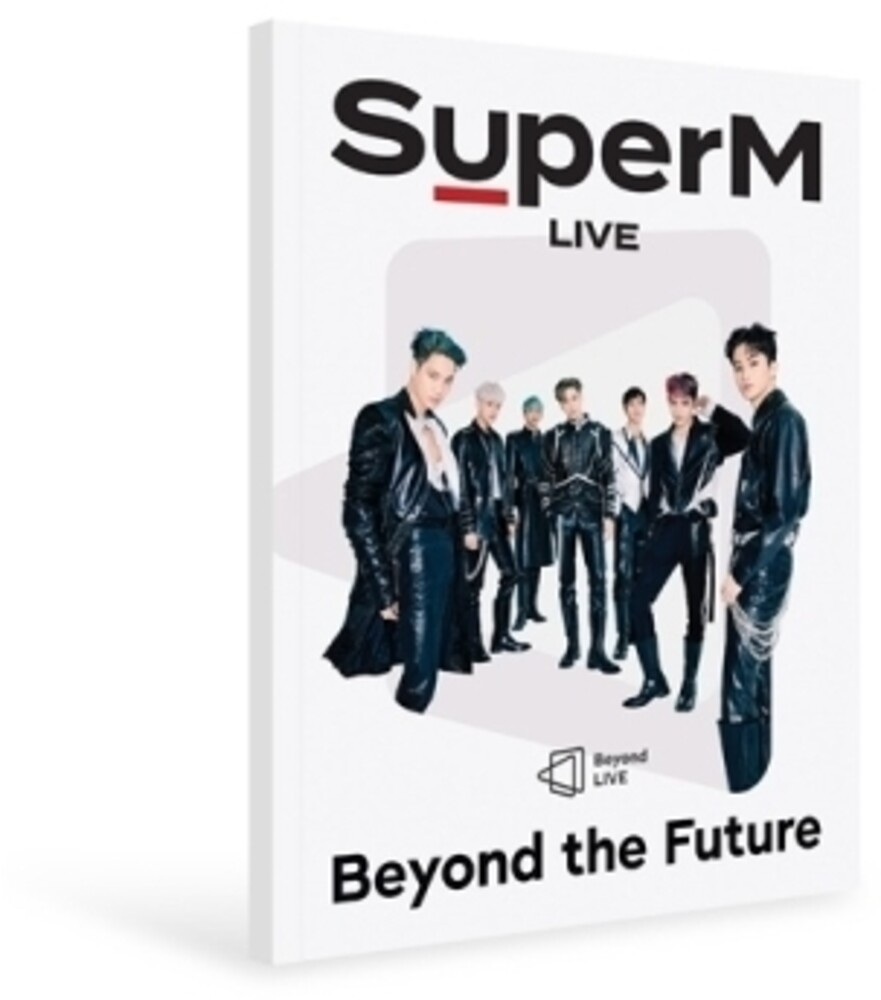 - Beyond Live Brochure SuperM: Beyond the Future (Photobook) (72pgBrochure + Photocard)