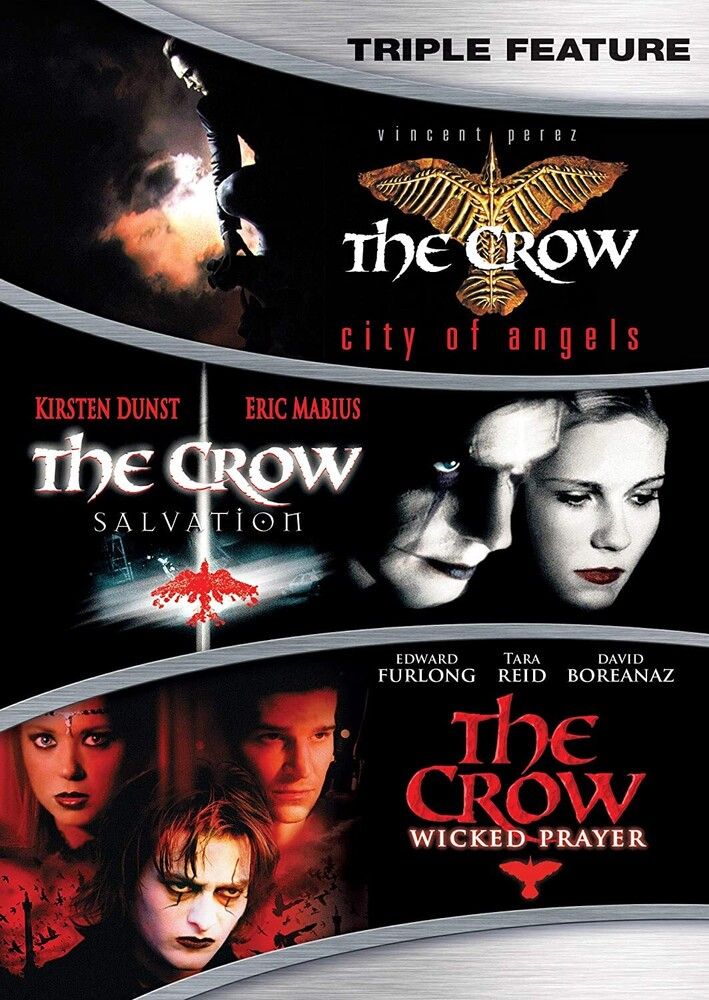 Crow 3 Movie Collection - Crow 3 Movie Collection / (Amar Ws)
