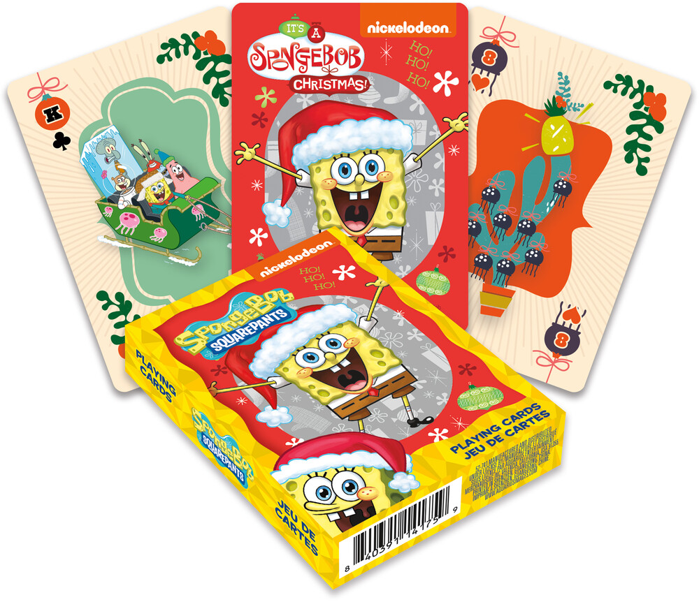 Spongebob Squarepants Holidays Playing Cards Deck - SpongeBob SquarePants Holidays Playing Cards Deck
