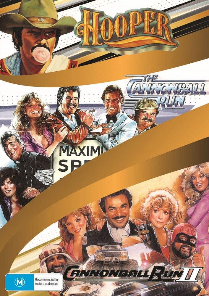 Burt Reynolds Coll (Hooper / Cannonball Run 1 & 2) - Burt Reynolds 3-Movie Collection (Hooper / The Cannonball Run / Cannonball Run II)