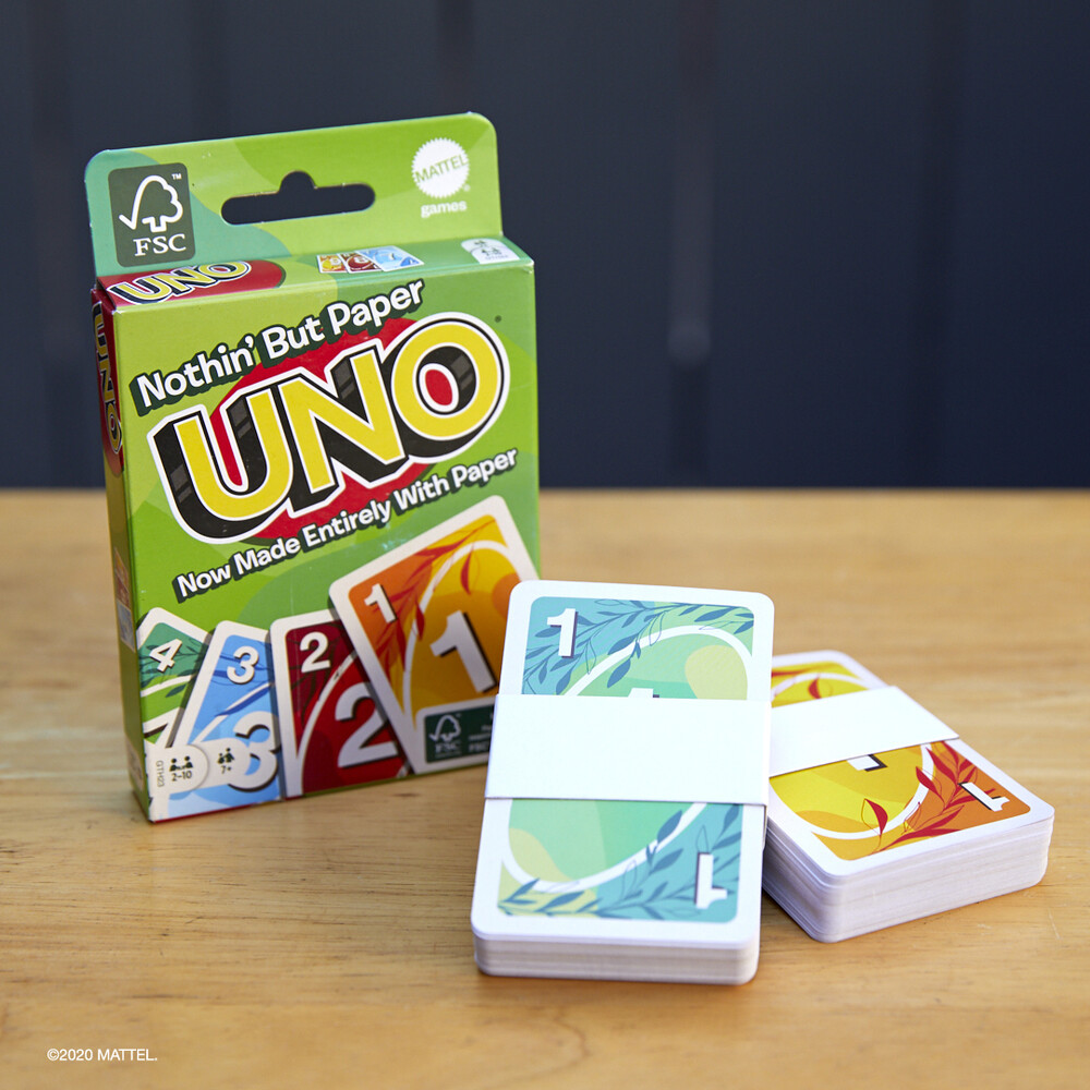 Uno - Mattel Games - UNO Sustainable