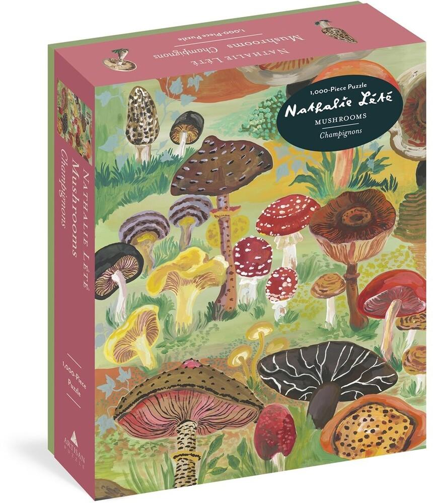 Lete, Nathalie - Nathalie Lete Mushrooms 1000 Piece Puzzle