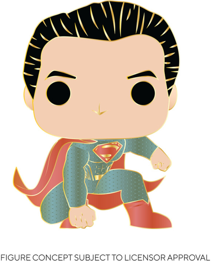 - FUNKO POP! PINS: Superman (Translucent)