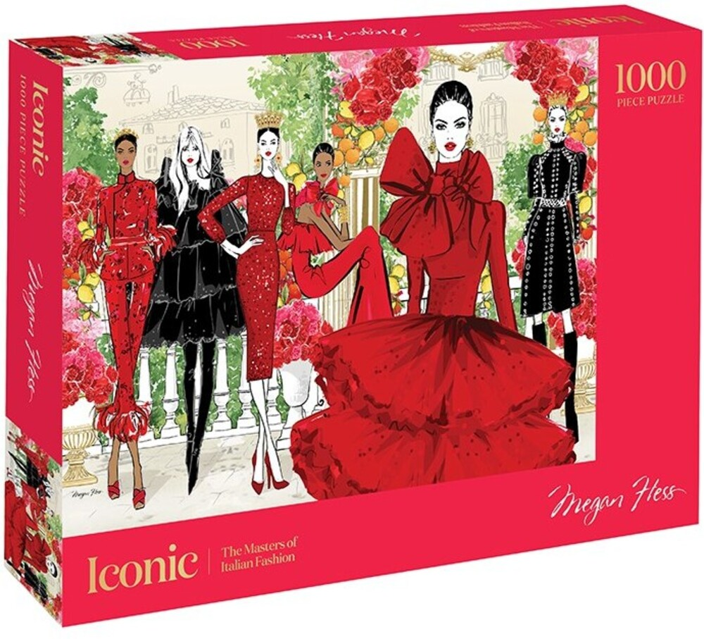 - Iconic: 1000 Piece Puzzle: The Masters of Italian Fashion