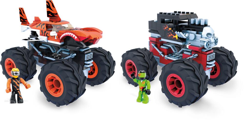 Mega Brands Hot Wheels - MEGA Brands - Hot Wheels Monster Trucks Assortment