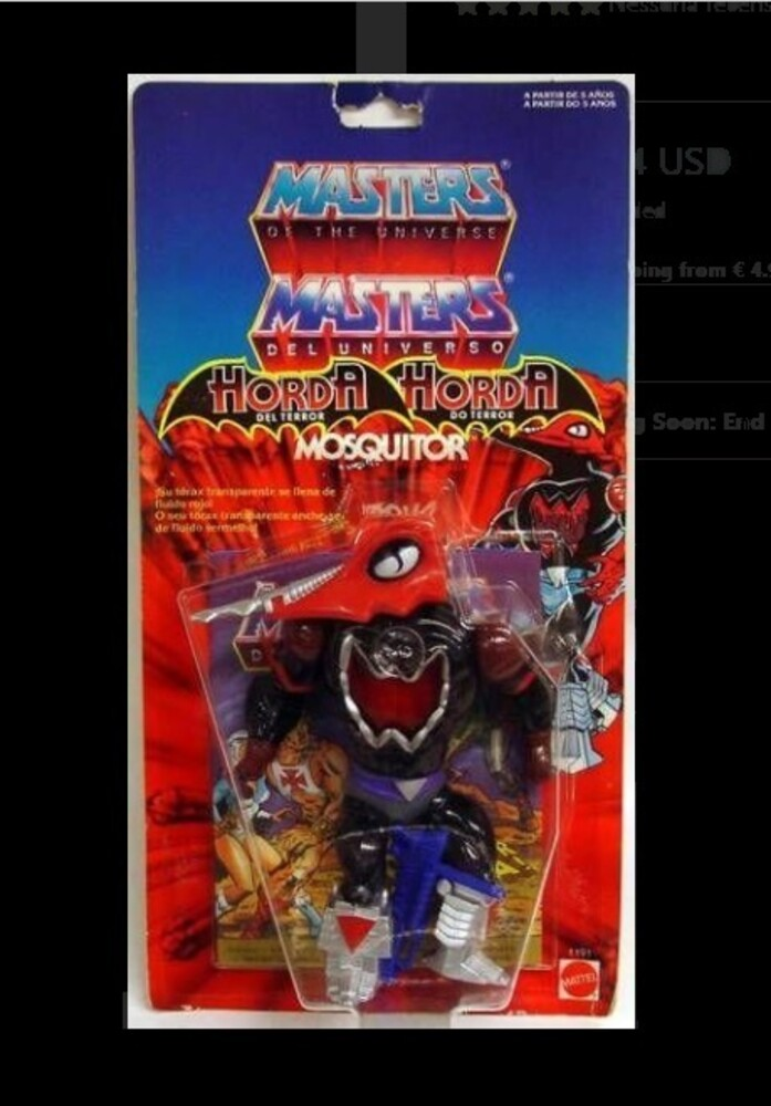 Masters Of The Universe - Mattel Collectible - Masters of the Universe Origins Deluxe Mosquitor (He-Man, MOTU)