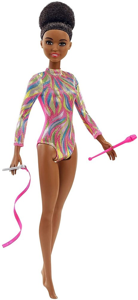 - Mattel - Barbie Rhythmic Gymnast, Brunette