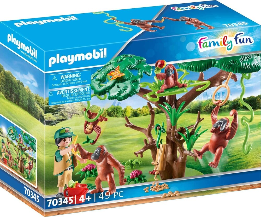 - Family Fun Orangutans With Tree (Fig)