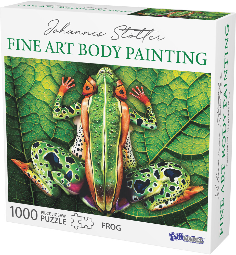 - Funwares Johannes Stotter Frog Body Art Puzzle