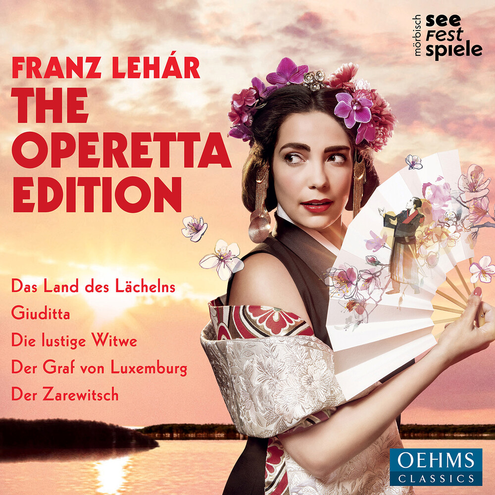 Lehar / Festival Orchestra Morbisch / Bibl - Operetta Edition (Box)