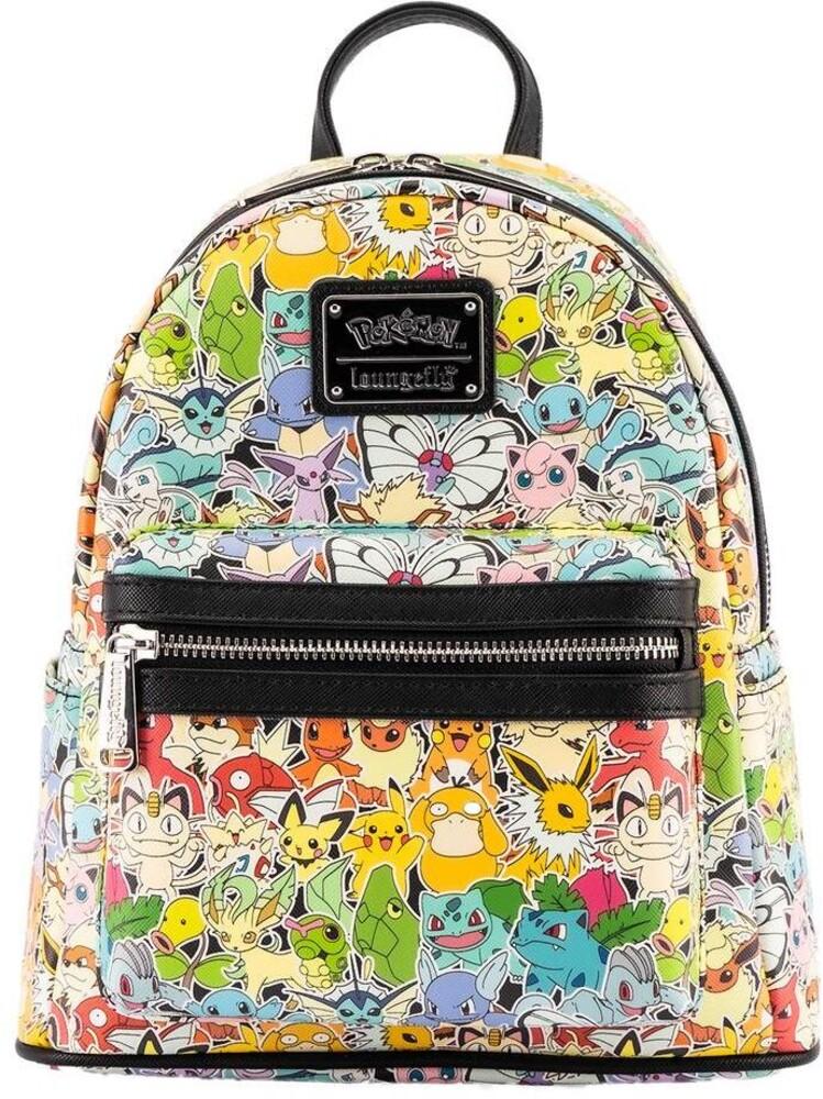 Loungefly Pokemon: - Ombre Mini Backpack (Back)