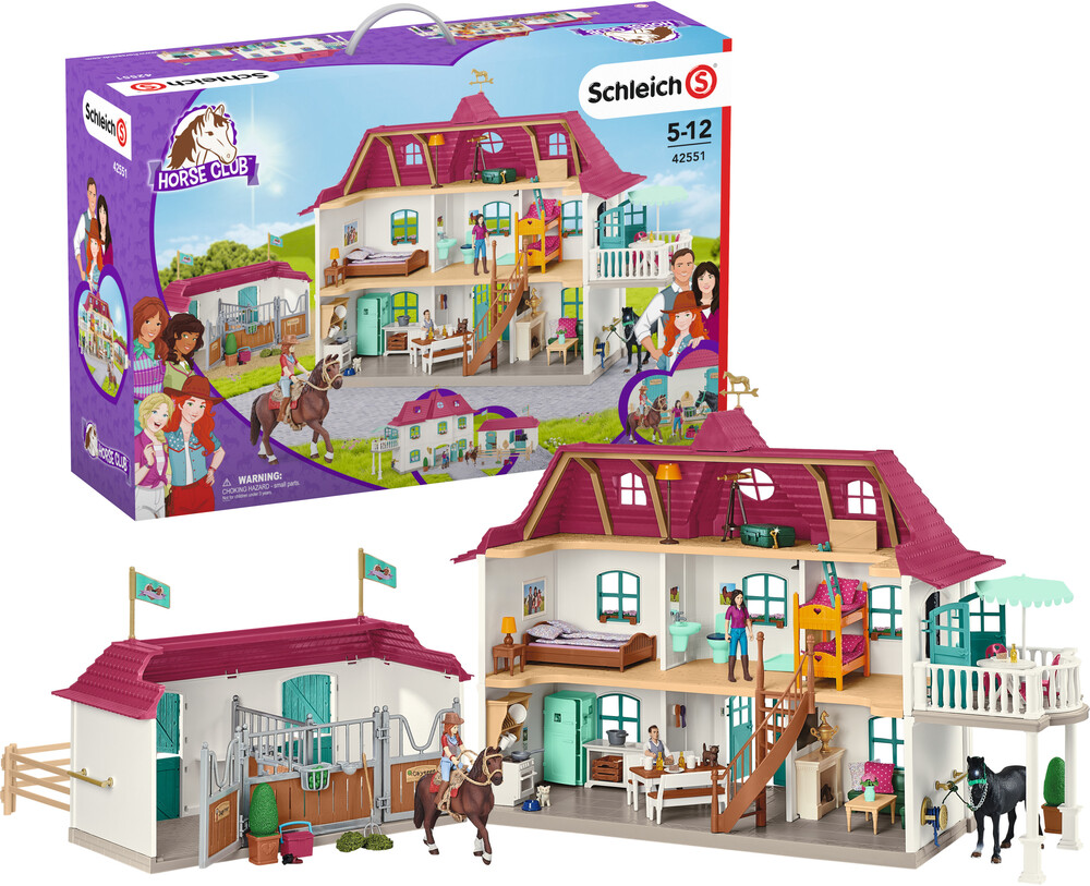Schleich - Schleich Lakeside Country House And Stable (Fig)