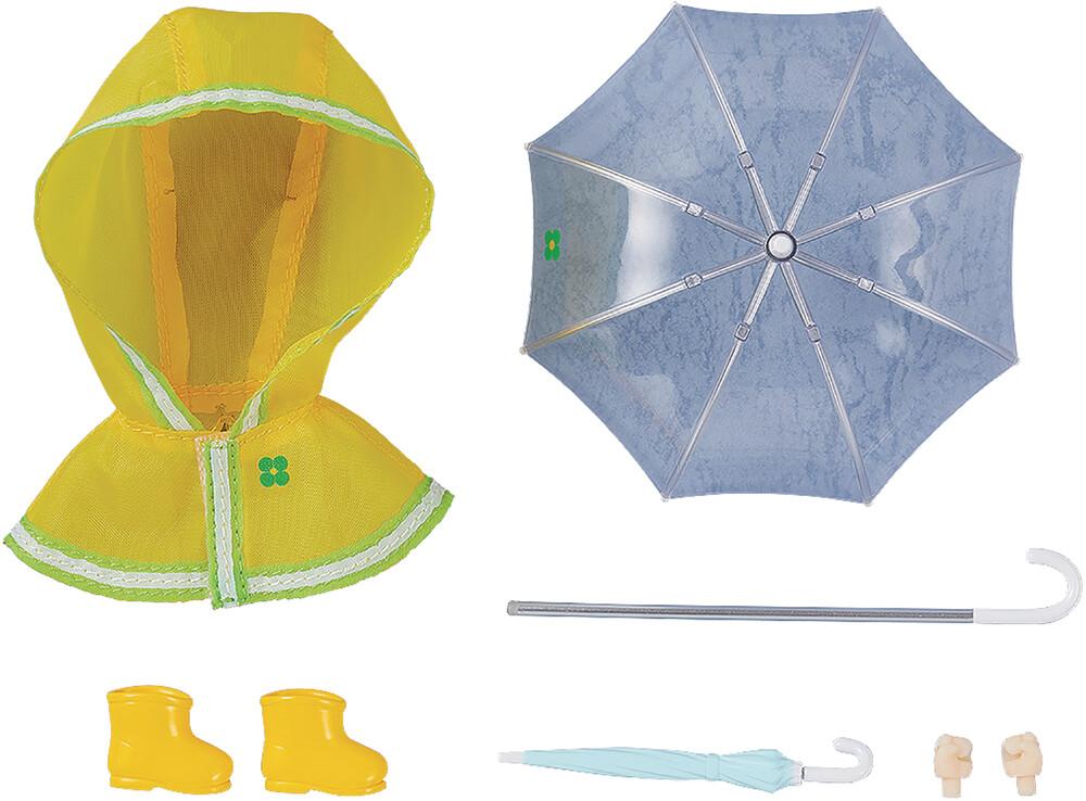 - Nendoroid Doll Outfit Set Rain Poncho Yellow Ver