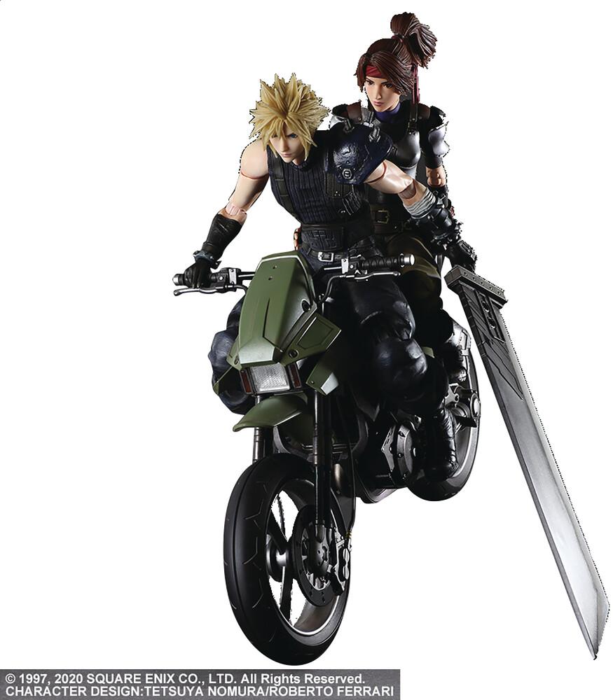 - Ff Viir Play Arts Kai Jessie Cloud & Motorcycle Af