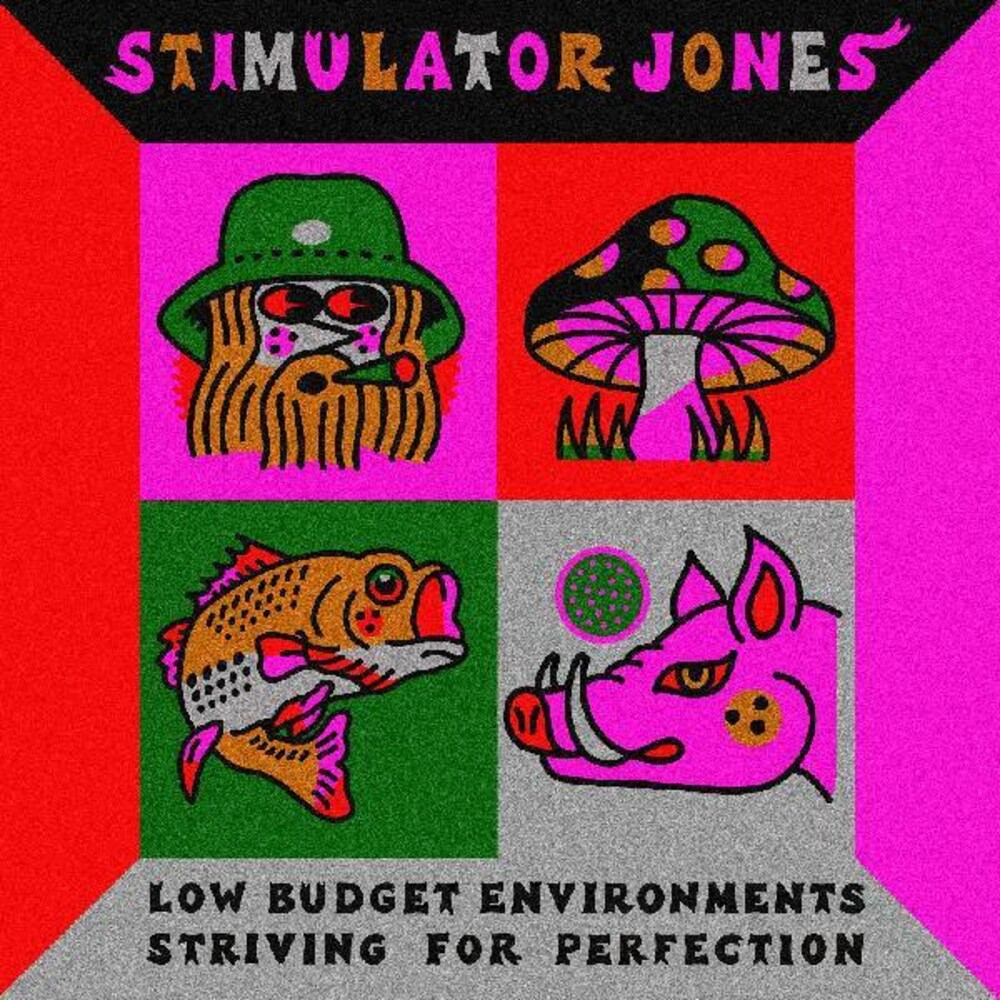 Stimulator Jones - Low Budget Environments Striving For Perfection