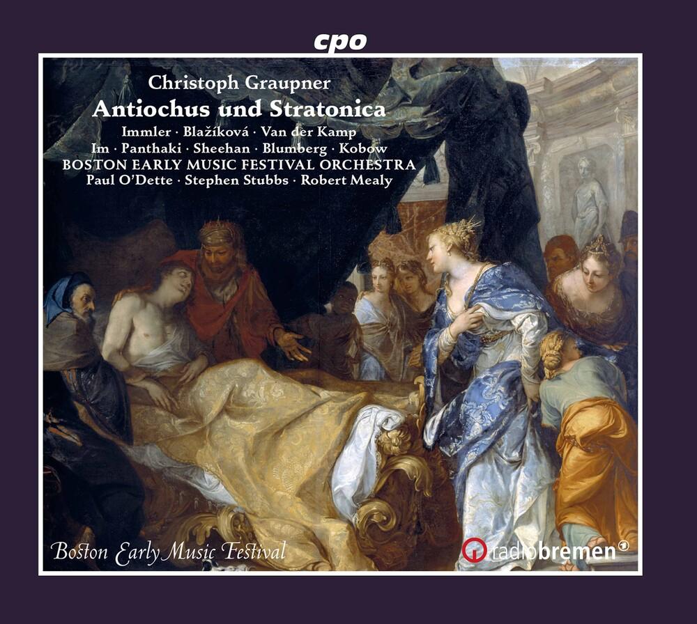 Graupner - Antiochus Und Stratonica (3pk)