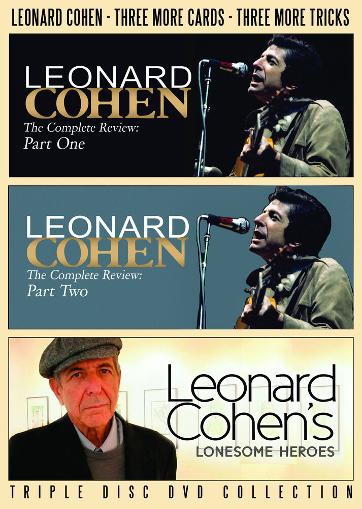 Cohen, Leonard - Three More Cards, Three More Tricks (3pc)