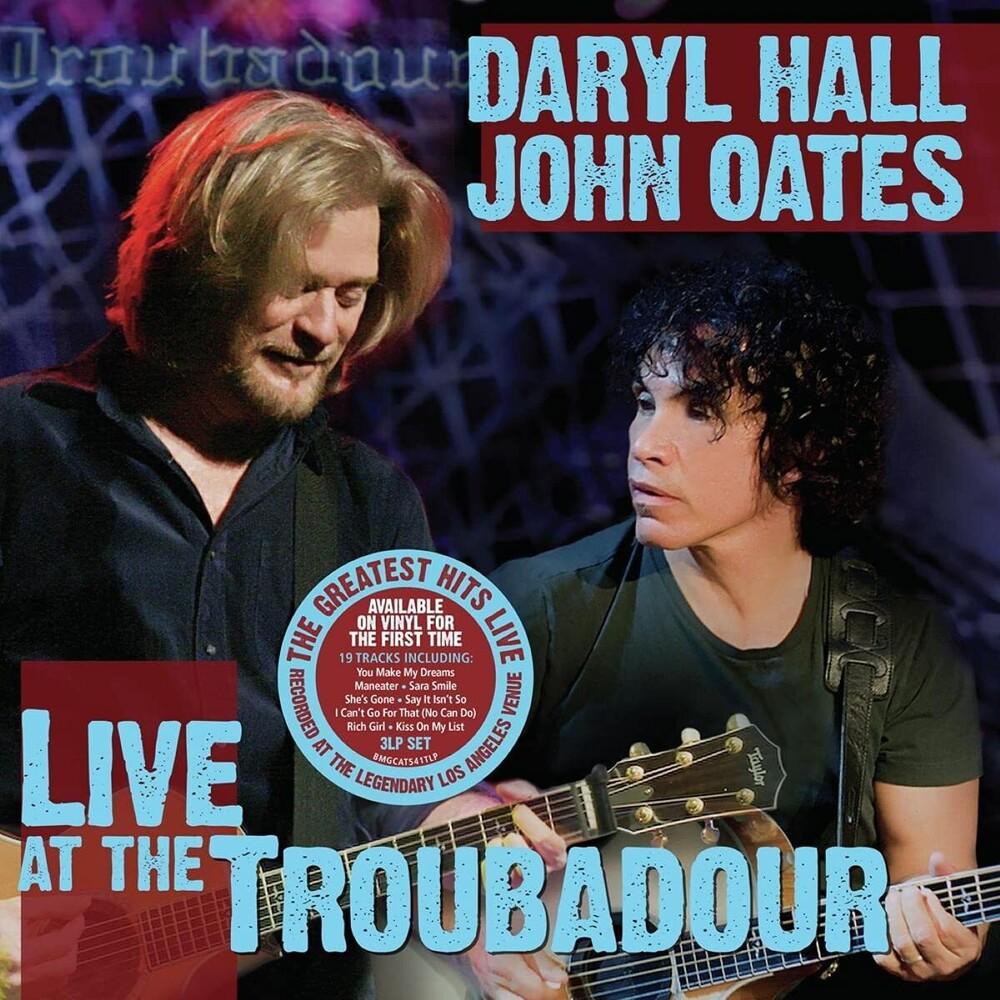 Daryl Hall  & Oates,John - Live At The Troubador (Gate)