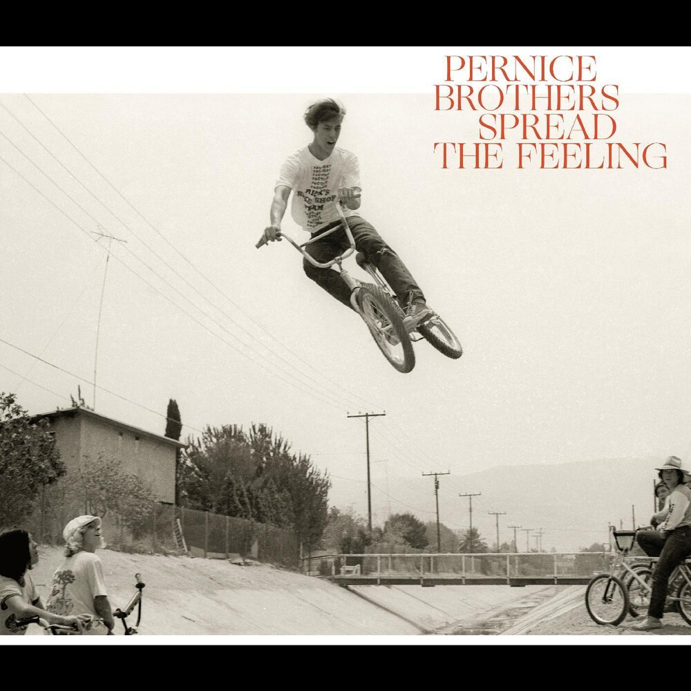 Pernice Brothers - Spread The Feeling [Colored Vinyl] (Red)