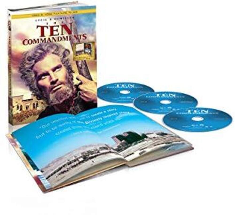 Ten Commandments (1923 & 1956) - The Ten Commandments (1923 and 1956)