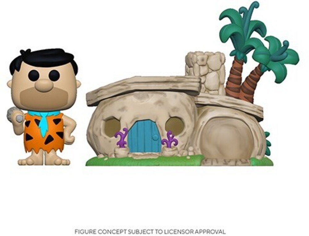 - FUNKO POP! TOWN: Flintstone's Home