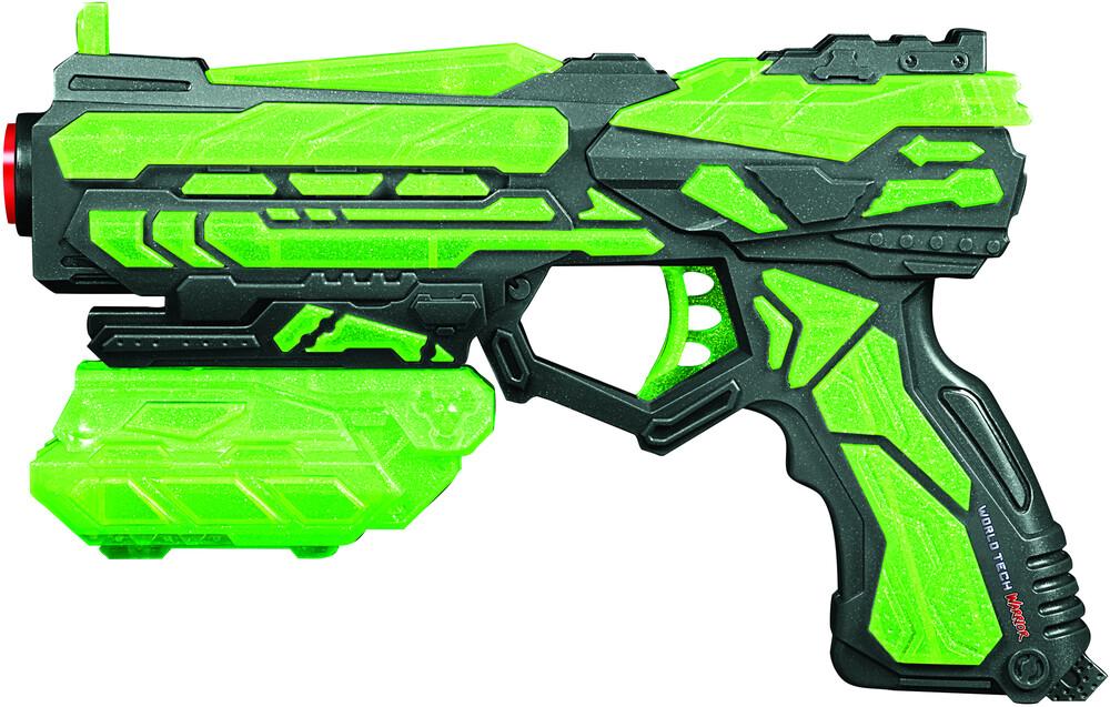 Dart Blasters - World Tech Warrior: Glow in the Dark Spring Pump Venom Dart Blaster