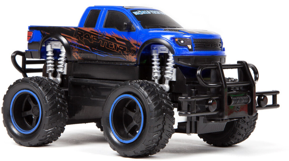 Rc Vehicles - Ford F-150 SVT Raptor Police Pursuit 1:24 RTR Electric RC Monster Truck Double Pack