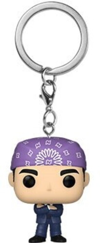 - FUNKO POP! KEYCHAIN: The Office- Prison Mike
