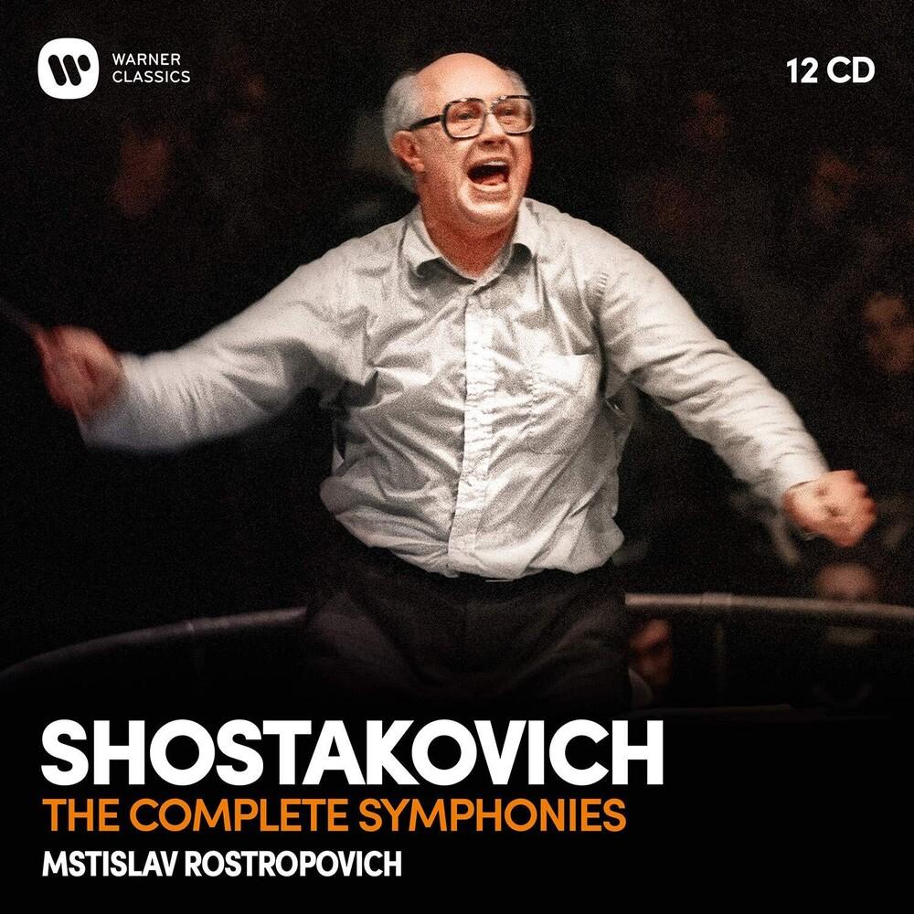 Mstislav Rostropovich - Shostakovich: Complete Symphonies