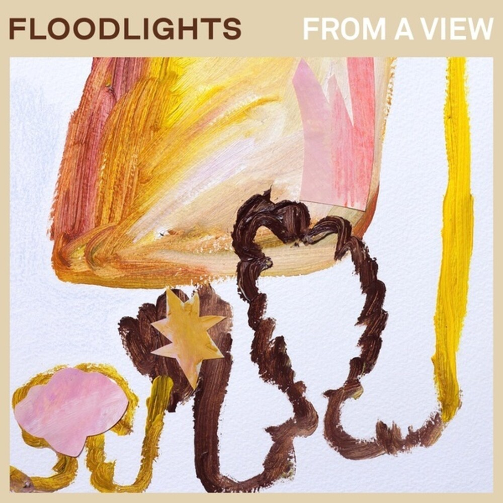 Floodlights - From A View [Colored Vinyl] (Ylw)