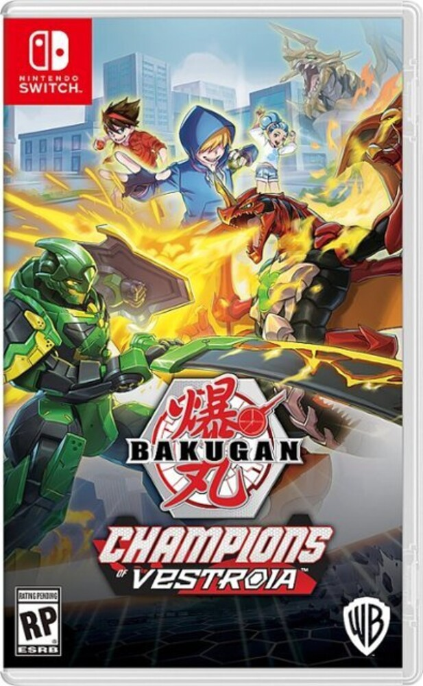 Swi Bakugan: Champions of Vestroia - Bakugan: Champions of Vestroia for Nintendo Switch