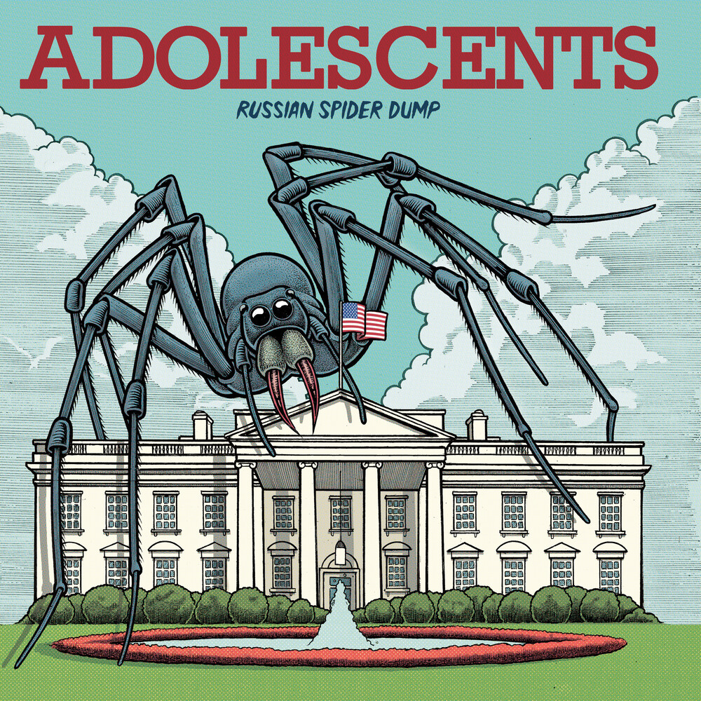 Adolescents - Russian Spider Dump [Colored Vinyl]