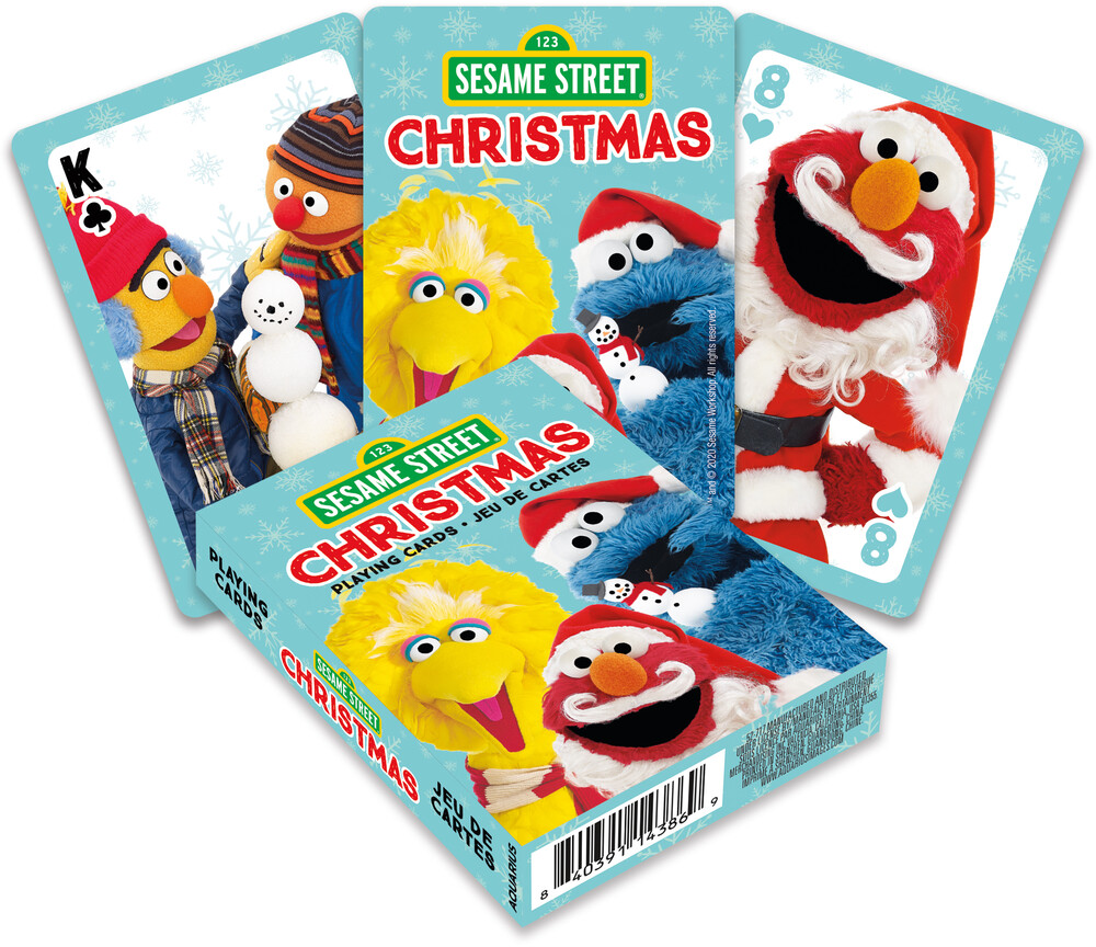 Sesame Street Christmas Playing Cards Deck - Sesame Street Christmas Playing Cards Deck