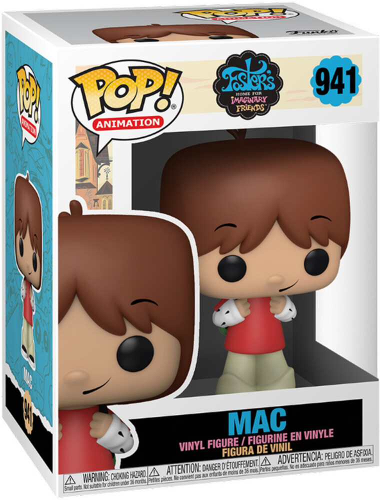 - FUNKO POP! ANIMATION: Fosters Home- Mac