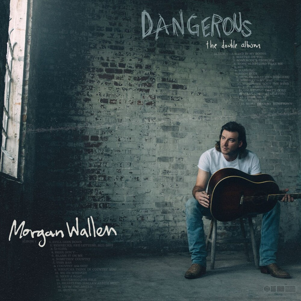 Morgan Wallen - Dangerous: The Double Album [Indie Exclusive Limited Edition 2CD+Baseball Card]