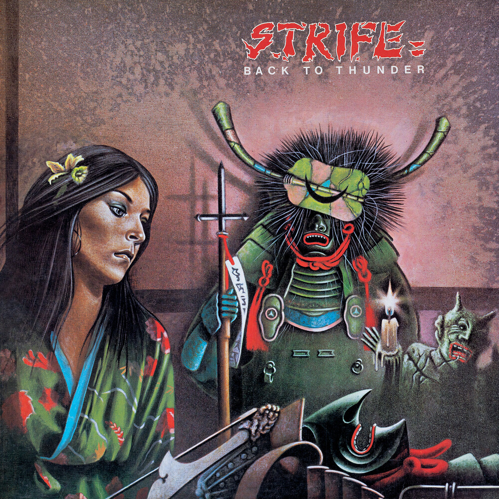 Strife - Back To Thunder (Bonus Tracks) [Deluxe] [With Booklet] (Coll)