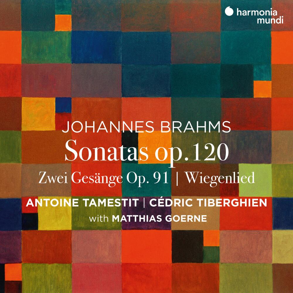 Antoine Tamestit  / Tiberghien,Cedric - Brahms: Sonatas Op. 120 Nos. 1 & 2