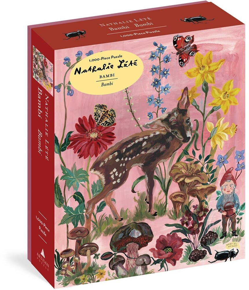 Lete, Nathalie - Nathalie Lete Bambi 1000 Piece Puzzle