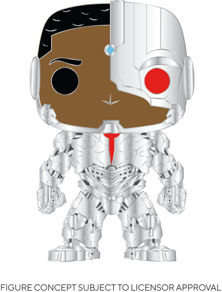 - FUNKO POP! PINS: Cyborg (Silver Metal)