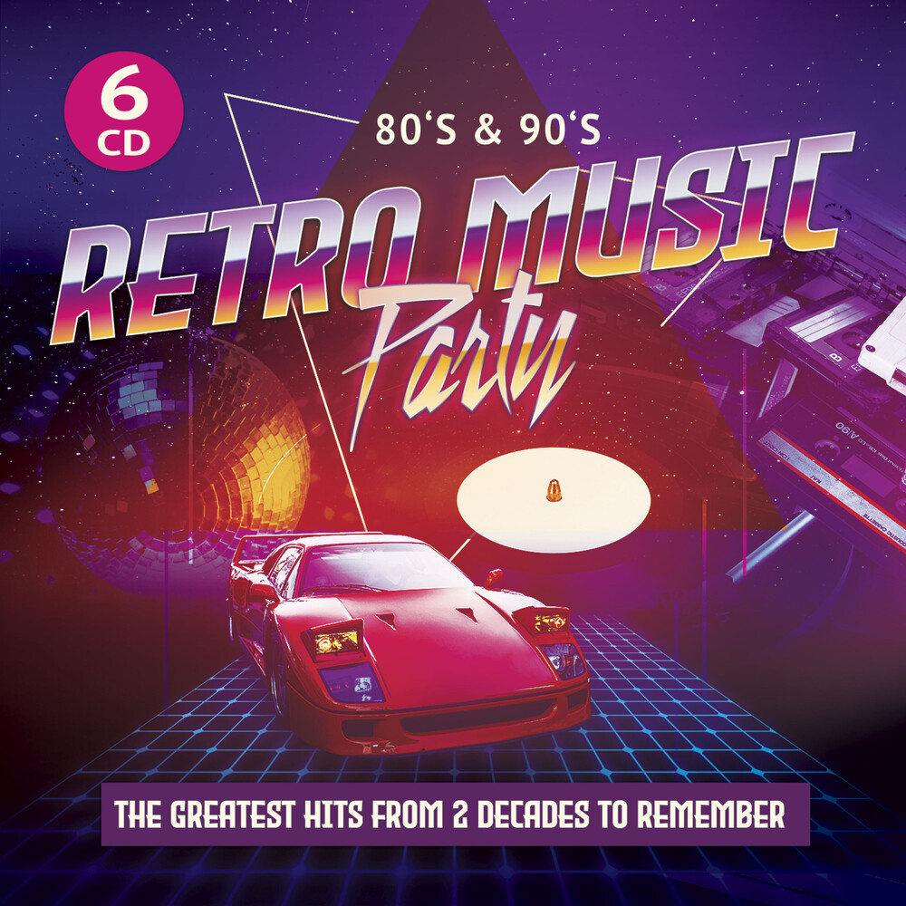 80s & 90s Retro Music Party / Various (Ltd) (Dig) - 80s & 90s Retro Music Party / Various [Limited Edition] [Digipak]
