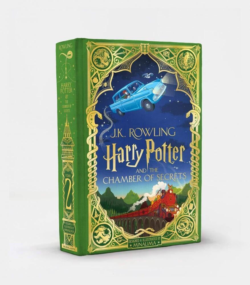 Rowling, J K / Minalima - Harry Potter and the Chamber of Secrets: MinaLima Edition