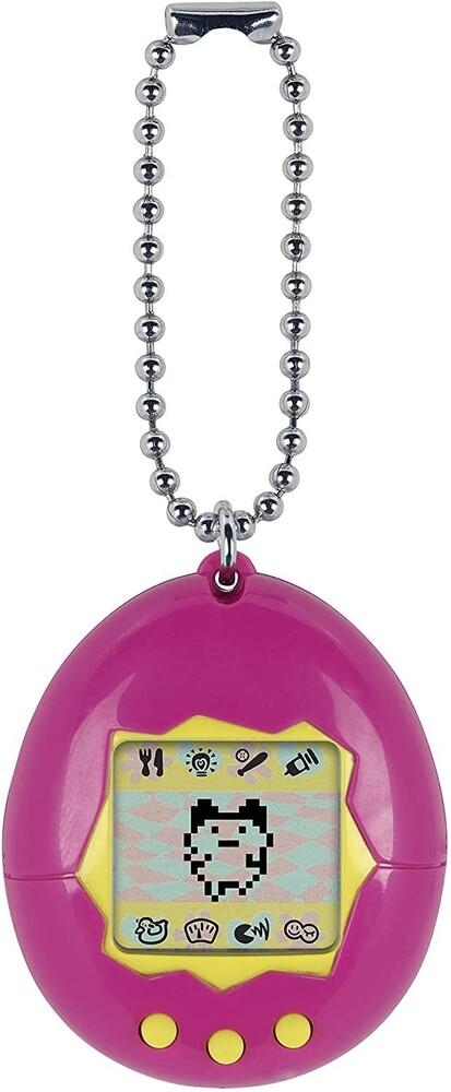 Tamagotchi - Bandai America - Original Tamagotchi, Pink with Yellow