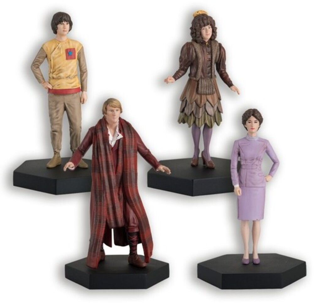 - Eaglemoss - Doctor Who - 5th Doctor, Nyssa, Tegan, Adric