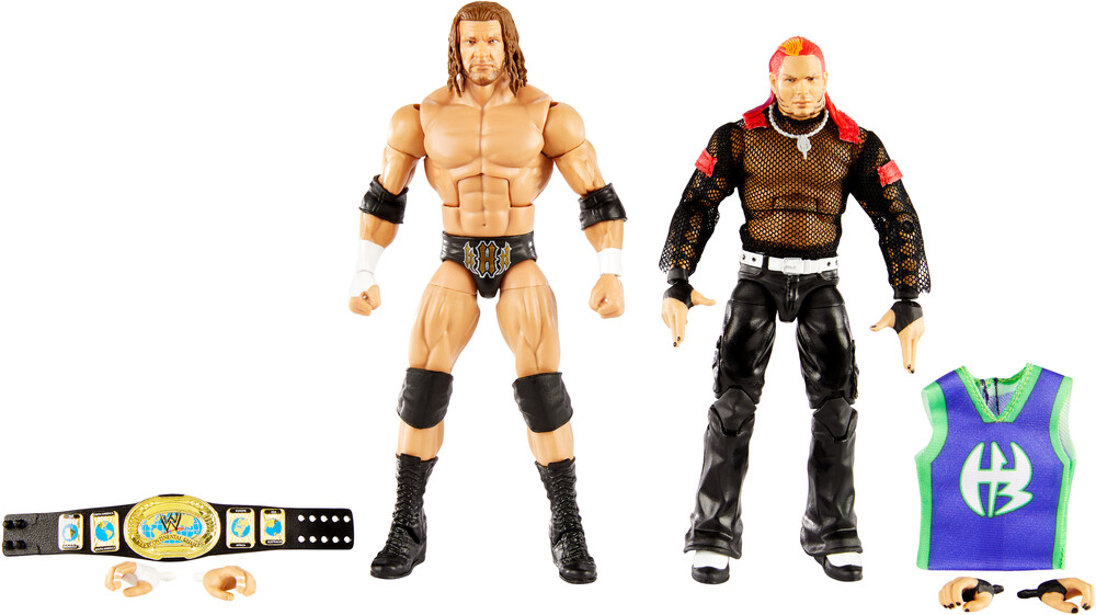 WWE - Mattel Collectible - WWE Elite Triple H And Jeff Hardy