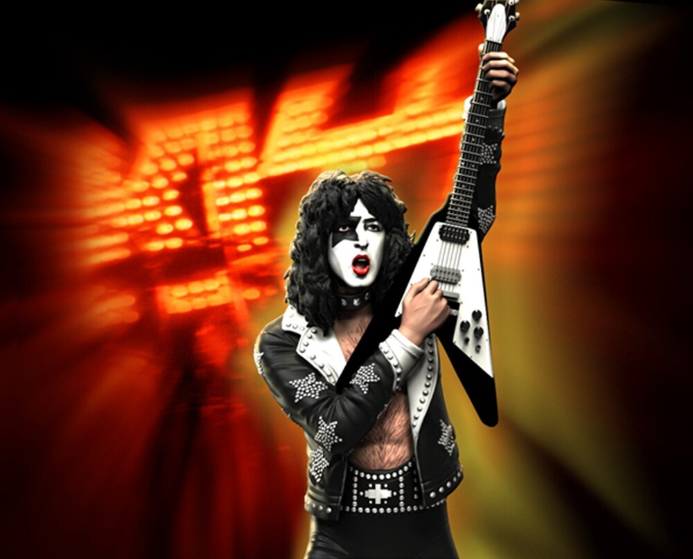 - Knucklebonz - KISS - Paul Stanley (HTH) Rock Iconz Statue