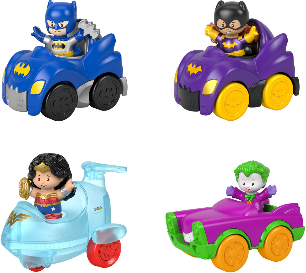 - Fisher Price - Little People DC Super Friends Small Vehicle Assortment (DCFS)