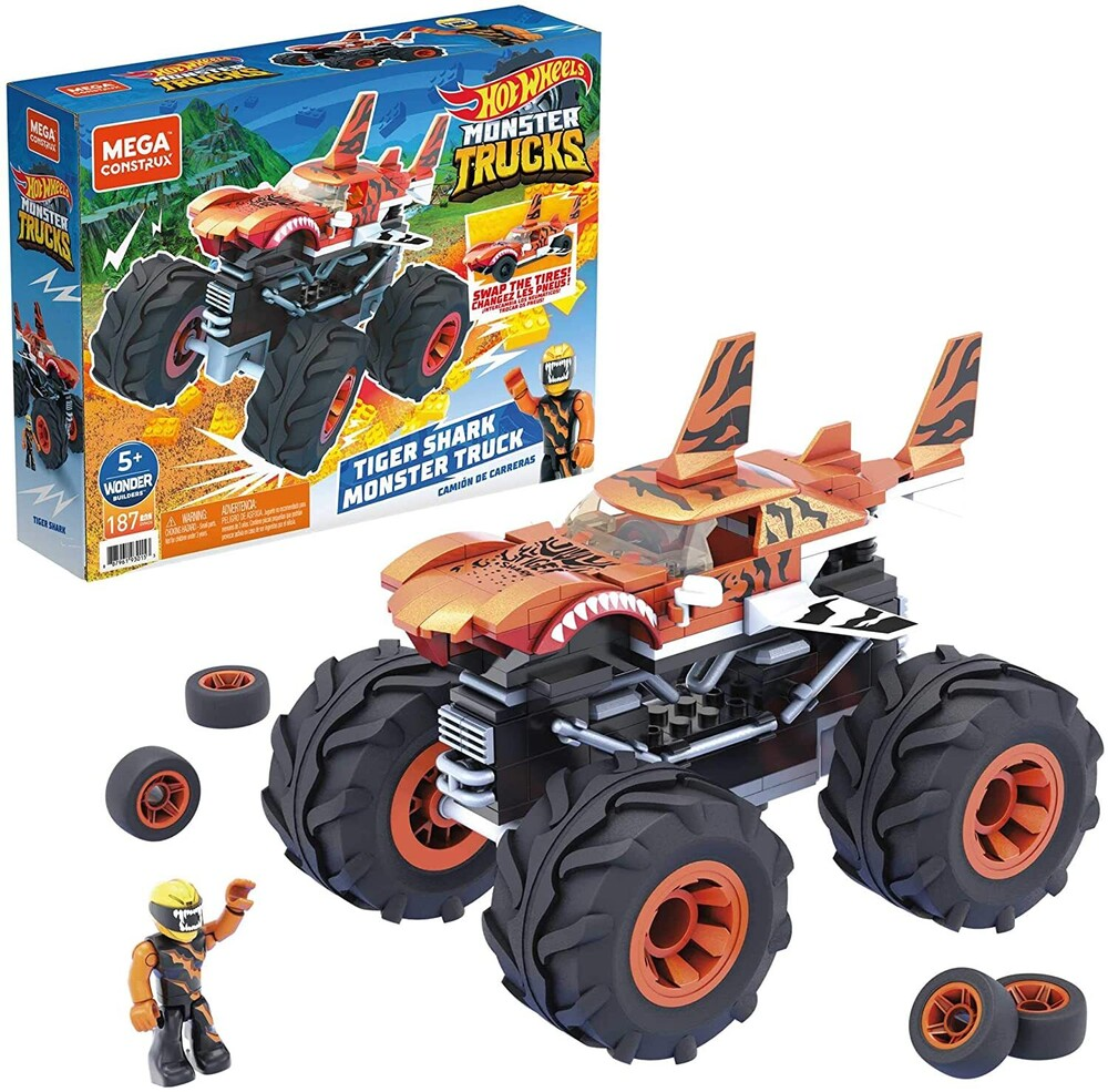 Mega Brands Hot Wheels - MEGA Brands - Hot Wheels Tiger Shark