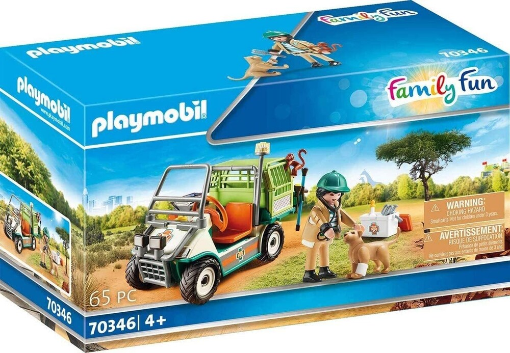 - Family Fun Zoo Vet With Medical Cart (Fig)